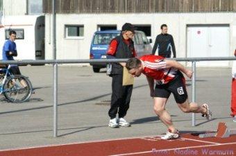 1. Tag: 400 m - Nadine Warmuth