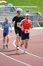 2. Tag: 3.000 m - Nadine Warmuth