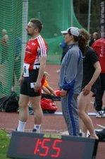 2. Tag: Vorfreude auf die 800 m - Nadine Warmuth