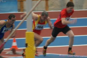 M50: 60 m - Tilo Reinhard (rotes Hemd) - Uwe Warmuth