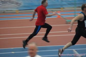 M60: 60 m - Klaus Jahn (rotes Hemd) - Uwe Warmuth