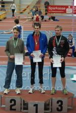 M35: 800 m - Lars Jannasch (2. Platz) - Uwe Warmuth