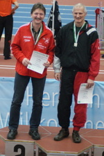 M50: Hochsprung - Tilo Reinhard (2. Platz) - Uwe Warmuth