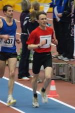 M35: 3000 m - Lars Jannasch (rotes Hemd) - Uwe Warmuth