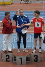 M35: Diskuswurf - Steffen Zimmermann (3. Platz) - Uwe Warmuth
