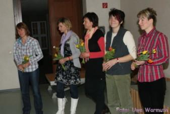 Ines Heblack, Gesine Räbiger, Mechthild Heber, Monika Stanke, Astrid Kämitz - Uwe Warmuth