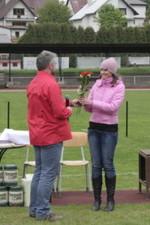 16.05.2010: Siegererhrung: Ehrung für die tschechische Sprecherin - Kay Schmarsow