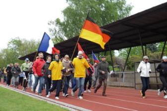 16.05.2010: Ehrenrunde für alle Sportler - Elke Warmuth