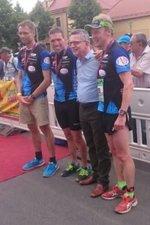 12.06.2016 Moritzburg – Ironman Staffel trifft Politik - Bautzener Triathlon-Freunde