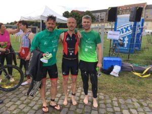 26.06.2016 Dresden City Triathlon – Silvio x 2, Oli - Bautzener Triathlon-Freunde