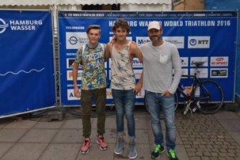 15.07.2016 Hamburg Triathlon – die VIP-Jungs Kopie - Bautzener Triathlon-Freunde