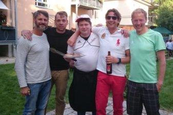 18.08.2016 Olympia live der Grillmeister Roman - Bautzener Triathlon-Freunde