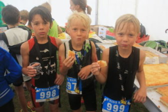 21.08.2016 O-See Challenge – Moritz, Emil, Pepe haben Heißhunger - Bautzener Triathlon-Freunde