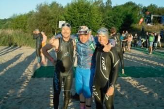 28.08.2016 KnappenMan – Silvio & Robert betreut von René beim ersten Langen - Bautzener Triathlon-Freunde