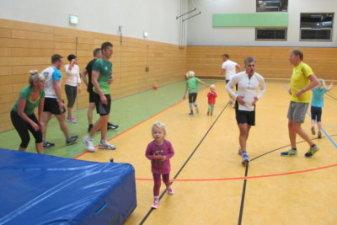 22.12.2016 Hallentraining strengt an - Bautzener Triathlon-Freunde