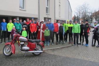 23.12.2016 Weihnachtslauf mit Weihnachtsmann - Bautzener Triathlon-Freunde