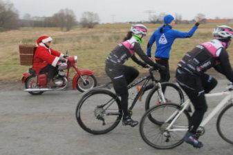 23.12.2016 Weihnachtslauf und Dybi fährt hinterher - Bautzener Triathlon-Freunde