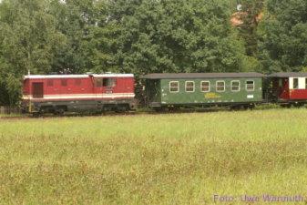 Die Zittauer Schmalspurbahn, leider keine Dampflok davor - Uwe Warmuth