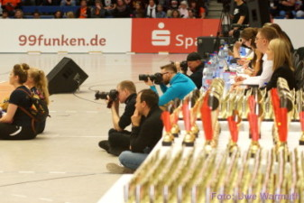 Immer alles im Blick: Jury und Fotografen - Uwe Warmuth