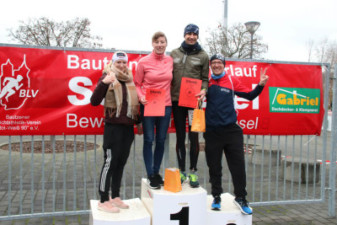 Silvesterlauf 2019 - Zielbereich und Siegerehrung - Christoph Mehnert