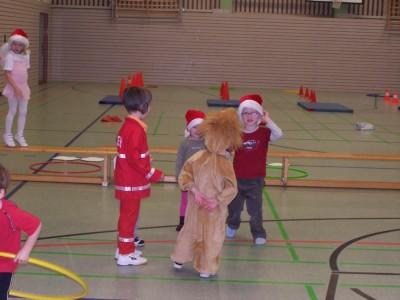 Weihnachtsfeier unserer Vorschulkinder