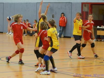 9. Spieltag Ostsachsenliga WJD 2012/2013 - BLV gegen HC Rödertal