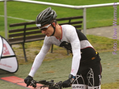4. Bautzener Crossduathlon: Jedermann - Schlussphase mit Rad und Lauf