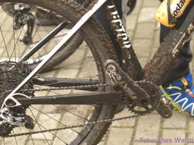 4. Bautzener Crossduathlon: Jedermann - Siegerehrung und Radwäsche