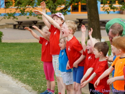 Kindertraining Leichtathletik