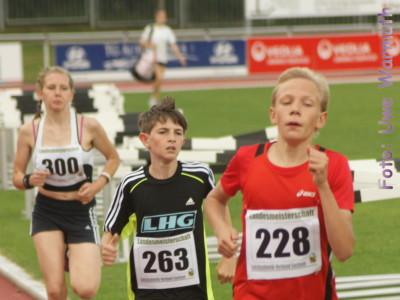 2. Landesmeisterschaft U14 in Bautzen (Lauf)