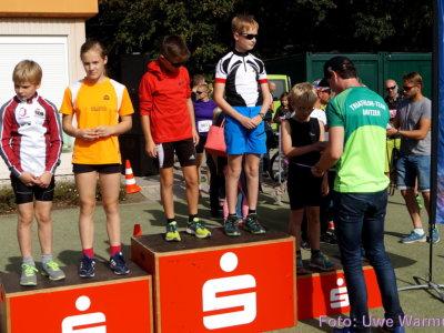 3. Crossduathon: Siegerehrungen