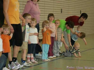 Eine Trainingseinheit bei den Jüngsten