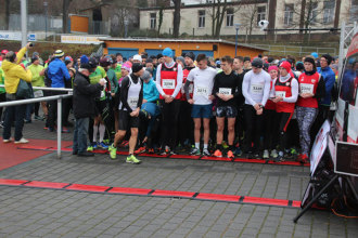 Silvesterlauf 2019 - Startbereich und Start
