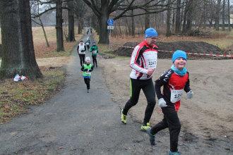 Silvesterlauf 2019 - Strecke 2,5 km