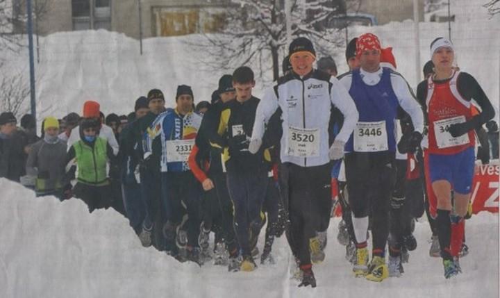 Triathlet Maik Petzold vom Bautzener LV Rot-Weiß 90 wird Zweiter beim Silvesterlauf