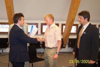 Maik Petzold - neuer Botschafter der Region (Interview im OLK)