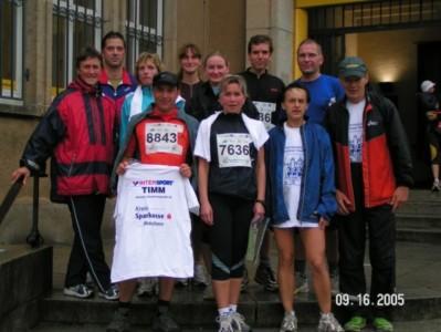 Mitglieder des BLV beim Bautzener Stadtlauf