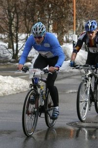 Erfolgreicher Start beim Wintertriatthlon