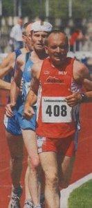 Der Landesmeister im 100-km-Lauf