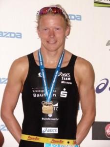 1. Platz beim London Triathlon
