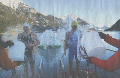 Kalte Dusche für Petzold am Achensee