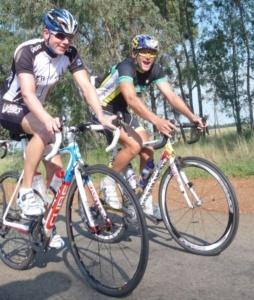 Maik Petzold schrubbt Kilometer in Südafrika