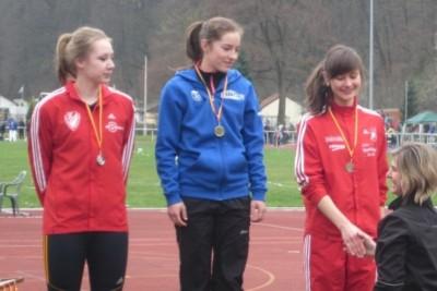 Erfolgreiche junge BLV-Leichtathleten