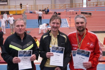 3 Sportler, 8 Starts und 7 Medaillen