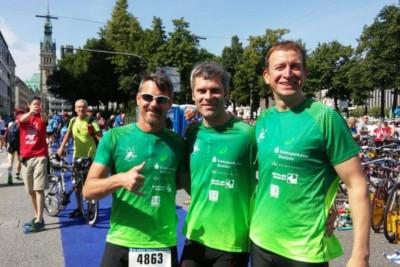 Bautzener Triathleten wieder erfolgreich beim weltgrößten Triathlon in Hamburg