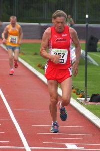 Deutsche Meisterschaften 10.000 m - Glückwunsch an Reinhard Petzold