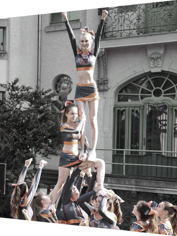Abteilung Cheerleading