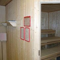 Bild Vereinshaus BLV Sauna - Foto: Uwe Warmuth